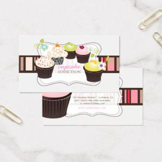 PixDezines diy kleiner Kuchen Visitenkarte