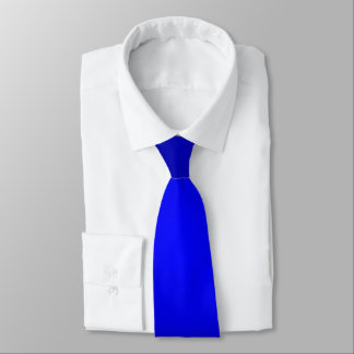 PixDezines einfache blaue Steigungs-Krawatten Krawatten