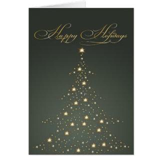 PixDezines Feiertags-Karten, Weihnachtsbaum Karte