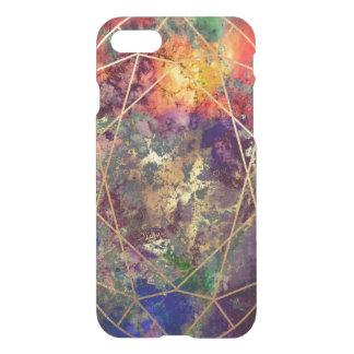 PixDezines Galaxie+Edelstein-Facetten iPhone 8/7 Hülle