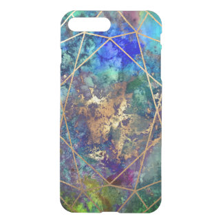 PixDezines Galaxie+Edelstein-Facetten iPhone 8 Plus/7 Plus Hülle
