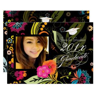 PixDezines Garten-/Floral-Abschluss 12,7 X 17,8 Cm Einladungskarte