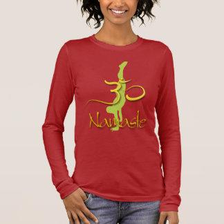 PixDezines Handstand-Pose/Namaste/Om Langarm T-Shirt