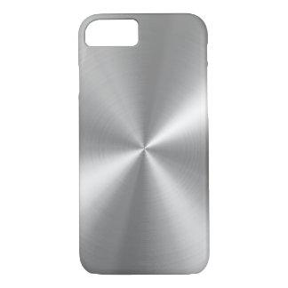 PixDezines Imitat gebürstetes Aluminium iPhone 8/7 Hülle
