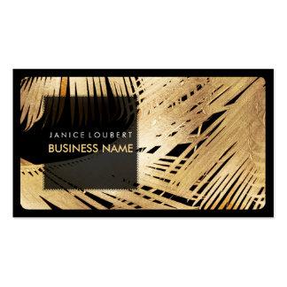 PixDezines Kona Wedel/Imitat-Gold Visitenkarten