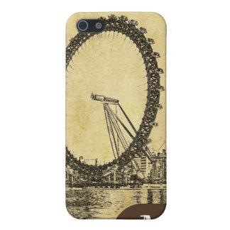 PixDezines London Auge, Monogramm verfügbar Schutzhülle Fürs iPhone 5