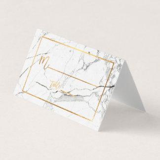 PixDezines Marmor+Imitat-Gold Placecards Platzkarte