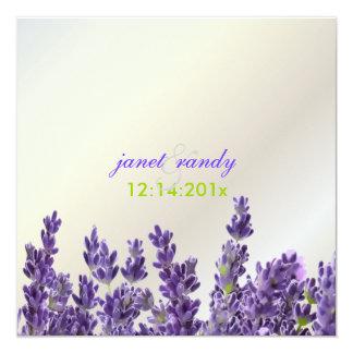 PixDezines Maui Lavendel Quadratische 13,3 Cm Einladungskarte
