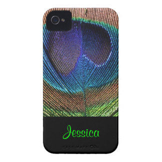 PixDezines Psychedellic Peacock/DIY iPhone 4 Case-Mate Hüllen