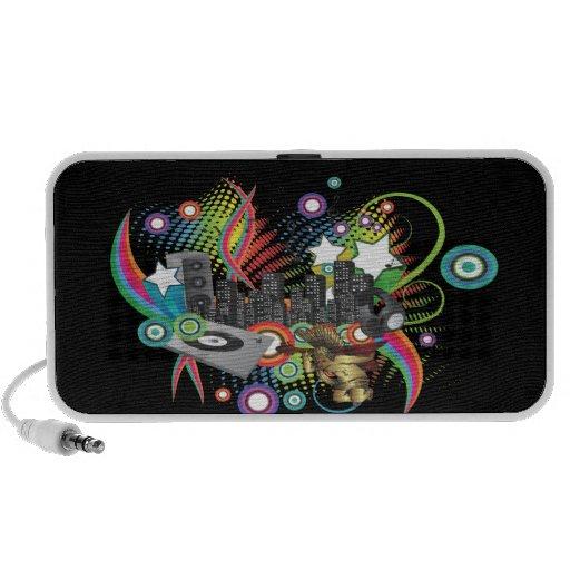 PixDezines Retro DJ ♥♥♥♥ Mini Speaker