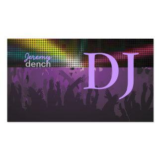 PixDezines Retro DJ+Tanzhalle Visitenkarten
