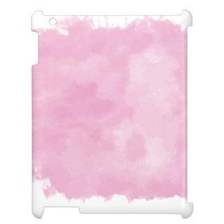 PixDezines rosa digitale Aquarellaffekte Hüllen Für iPad