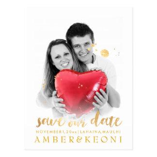 PixDezines Save the Date/stilvolles Postkarten