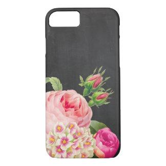 PixDezines Tafel/Vintage Rosen iPhone 8/7 Hülle