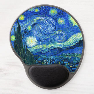 PixDezines Vincent van Gogh/sternenklare Nacht Gel Mousepad
