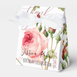 PixDezines Vintage Rosen/botanische Kunst Geschenkschachtel