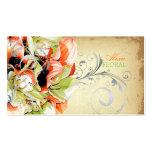 PixDezines Vintager Blumenstrauß, Floristen/diy Visitenkarten