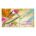 PixDezines Vintager Paradiesvogel ♥♥♥ Visitenkarten