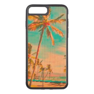 PixDezines Vintager Strand/Hawaii/aquamarines Carved iPhone 8 Plus/7 Plus Hülle