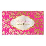 PixDezines Vintager tanza Damast/Imitatgold+Perle Visitenkarten Vorlage