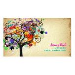 PixDezines Vintages Grunge-Baum-Trimmer ♥♥♥♥ Visitenkarten Vorlagen