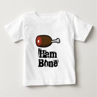 Pixel hambone Schinken-Kunst Baby T-shirt