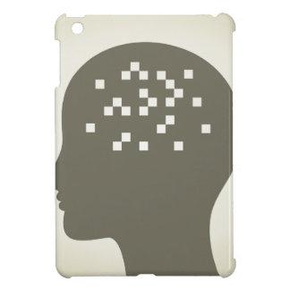 Pixel in einem Kopf iPad Mini Hülle