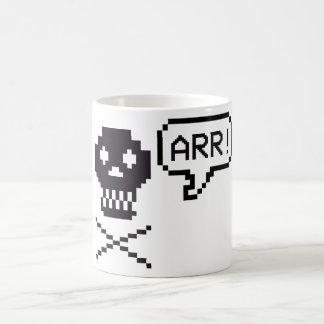 Pixel-Pirat Kaffeetasse