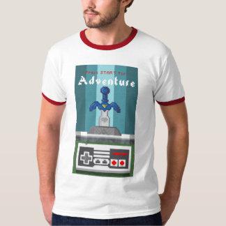 Pixel-Presse-Anfang für Abenteuer Tshirts