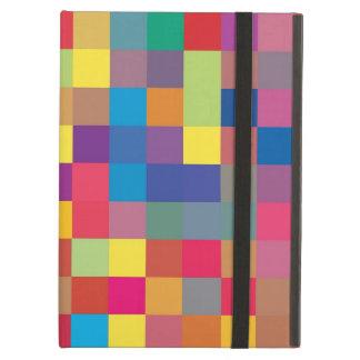 Pixel-Regenbogen-Quadrat-Muster