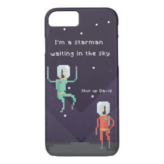Pixel Starman iPhone 8/7 Hülle