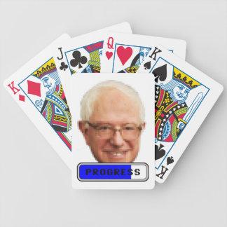 Pixelated Bernie Sandpapierschleifmaschinen - Bicycle Spielkarten