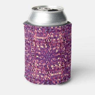 Pixelated lila Soda-Dose cooler Dosenkühler