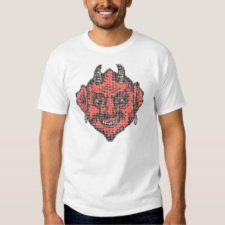 Pixelkunst: Roter indischer Teufel Hemd