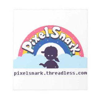 PixelSnark Logo Notizblock