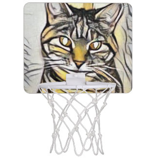 Pixie1 Art71 Mini Basketball Netz