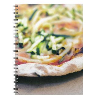 Pizza-12 Notizblock