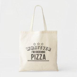 Pizza> alles anderes tragetasche