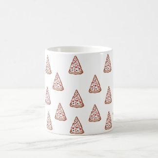 Pizza auf Ihrer Schale Kaffeetasse