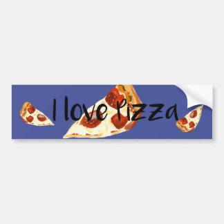 Pizza Autoaufkleber
