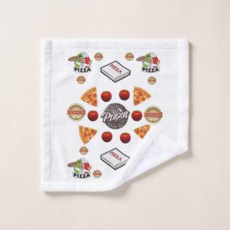 Pizza-Badezimmer-Tuch-Sets Badhandtuch Set