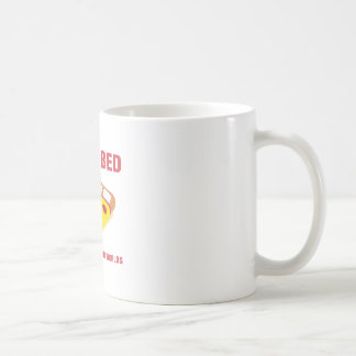 Pizza-Bett Kaffeetasse