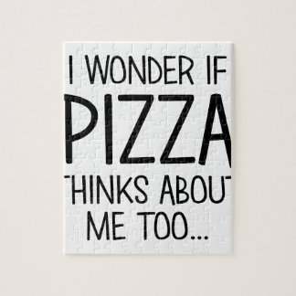 Pizza denkt an mich puzzle