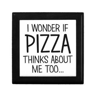 Pizza denkt an mich schmuckschachtel
