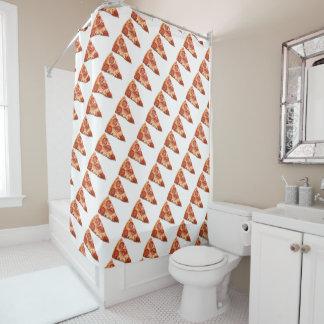 Pizza-Duschvorhang Duschvorhang