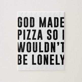 Pizza einsam puzzle