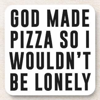 Pizza einsam untersetzer
