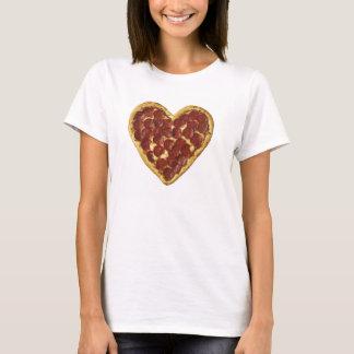 Pizza-Herzt-stück T-Shirt