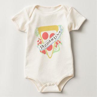 Pizza ist Liebe Baby Strampler
