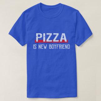 Pizza ist neuer Freund-lustiger Valentinstag T-Shirt